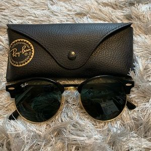 Brand new club round classic ray-bans